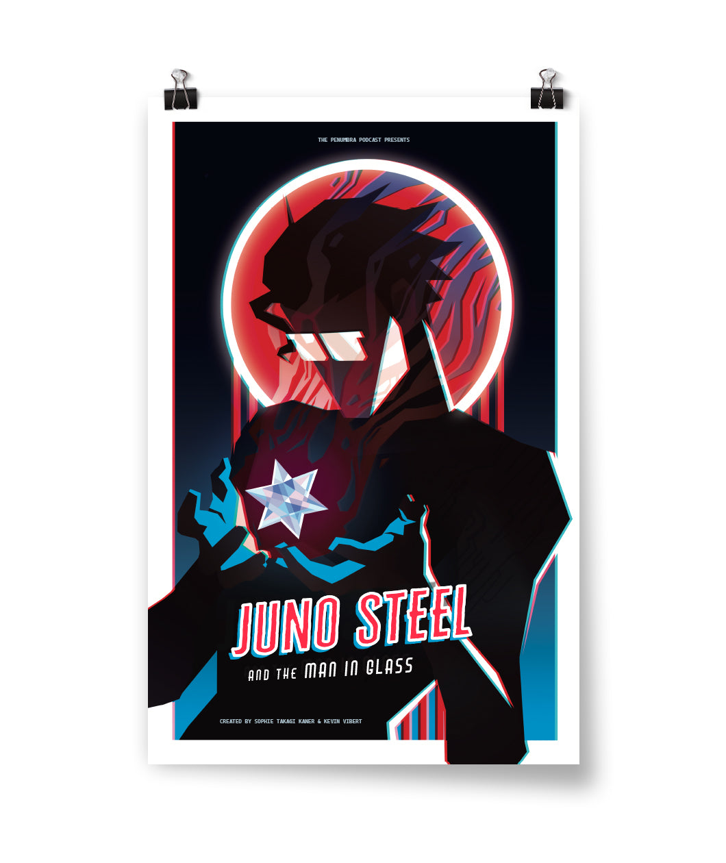 Juno Steel and the Man in Glass