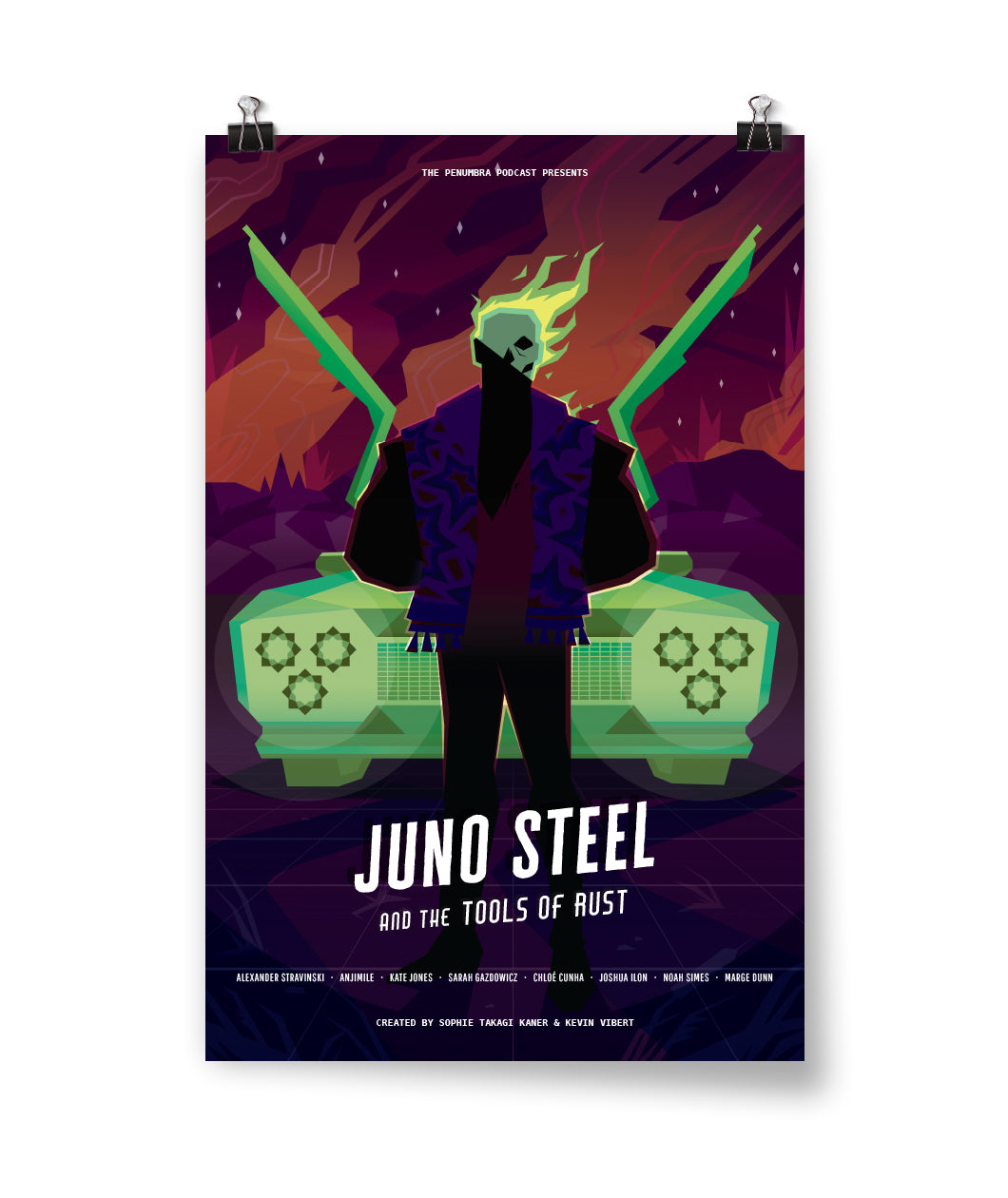 Juno Steel and the Tools of Rust