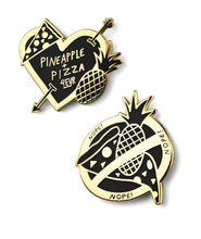 The Great Pineapple On Pizza Debate Pin!