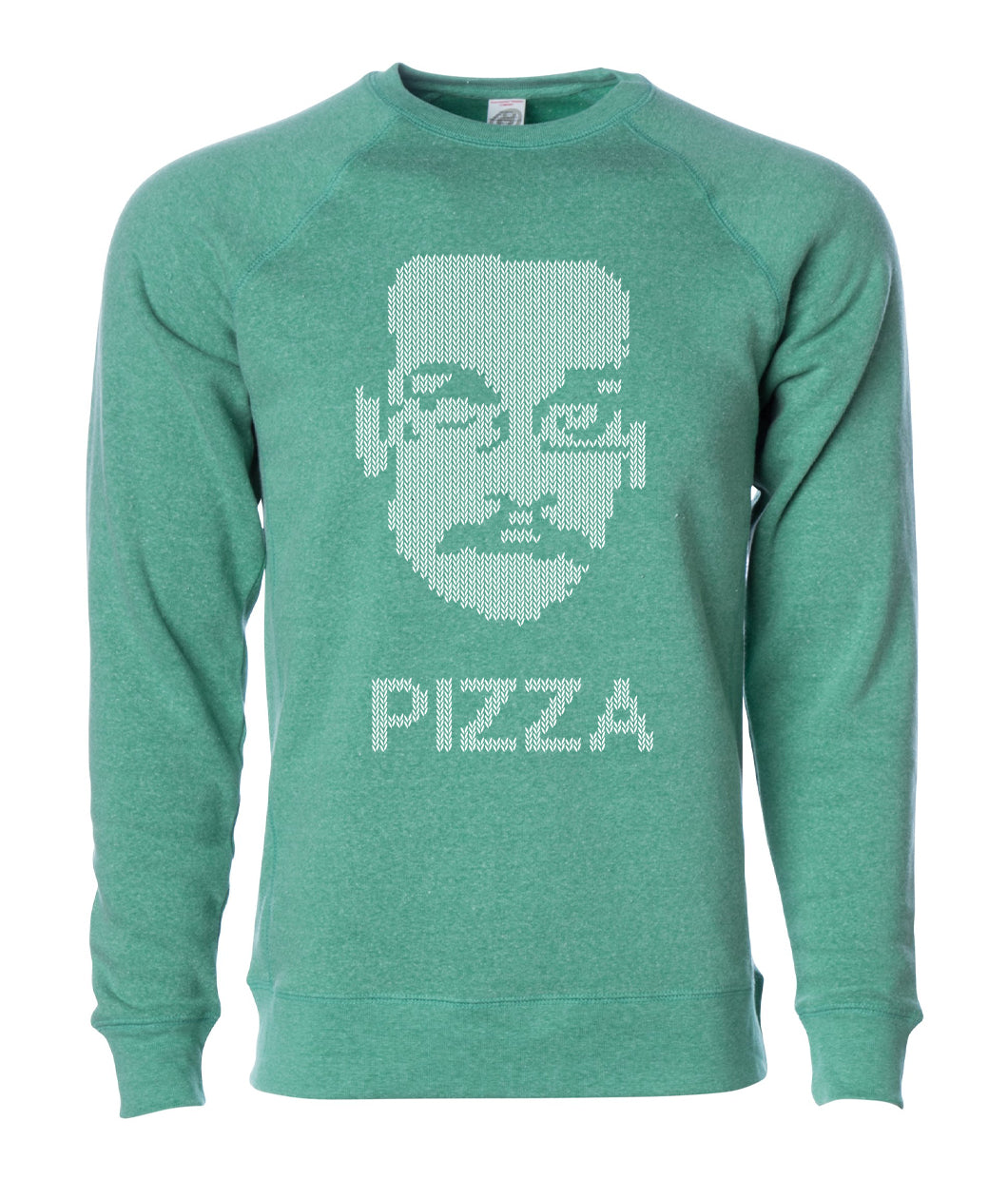 Pizza John Faux Knit Sweatshirt