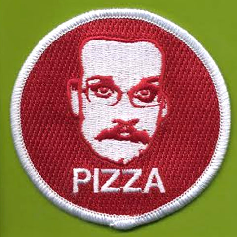 Pizza John Iron-On Patch