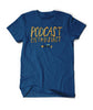 PodCon 2 PodCast Entusiast Shirt