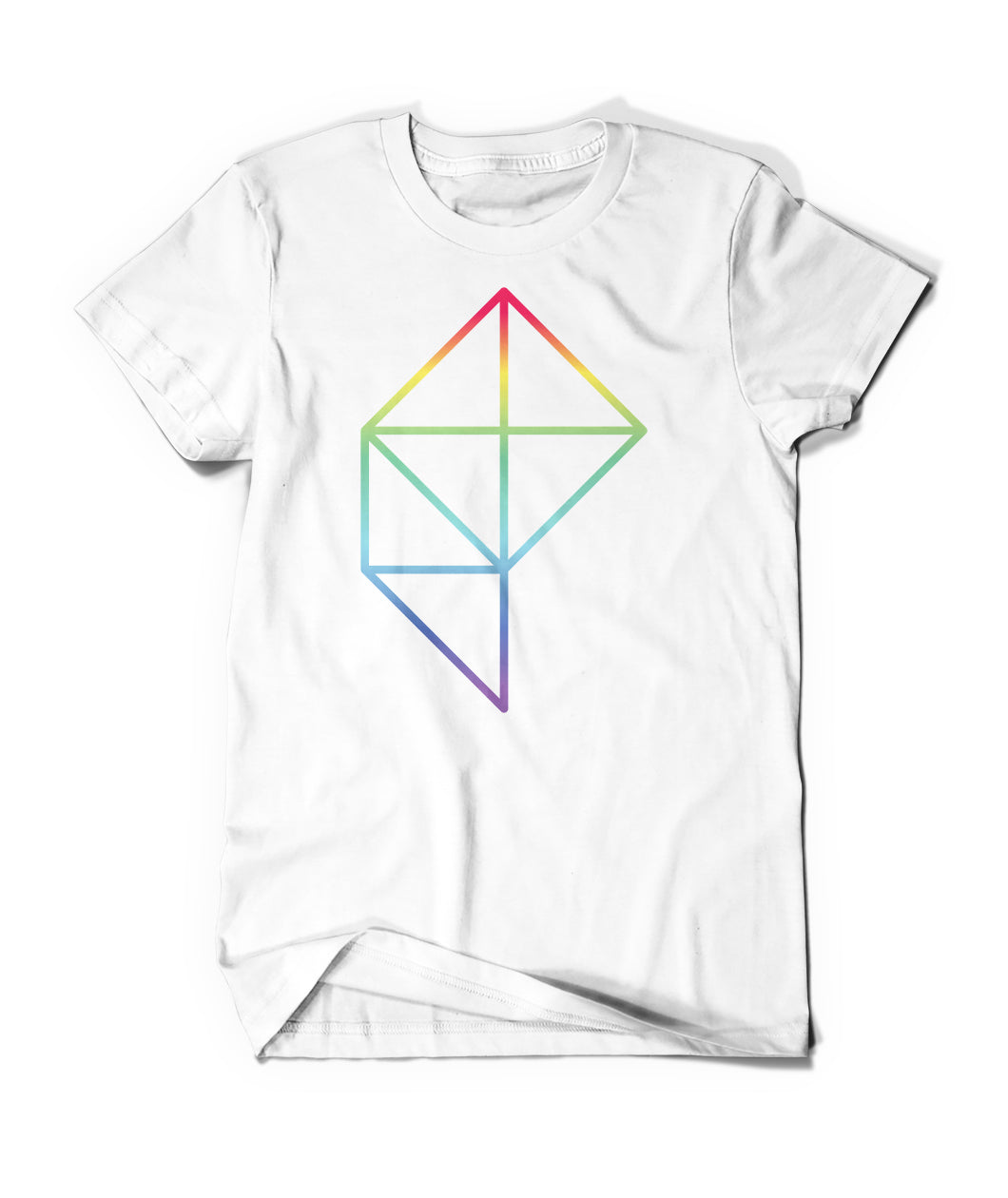 Polygon Rainbow Logo Shirt