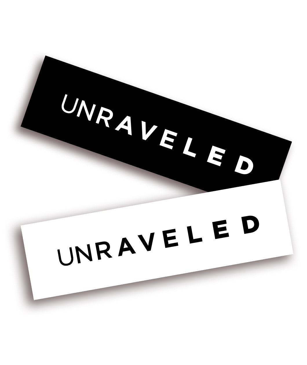 Unraveled Decal