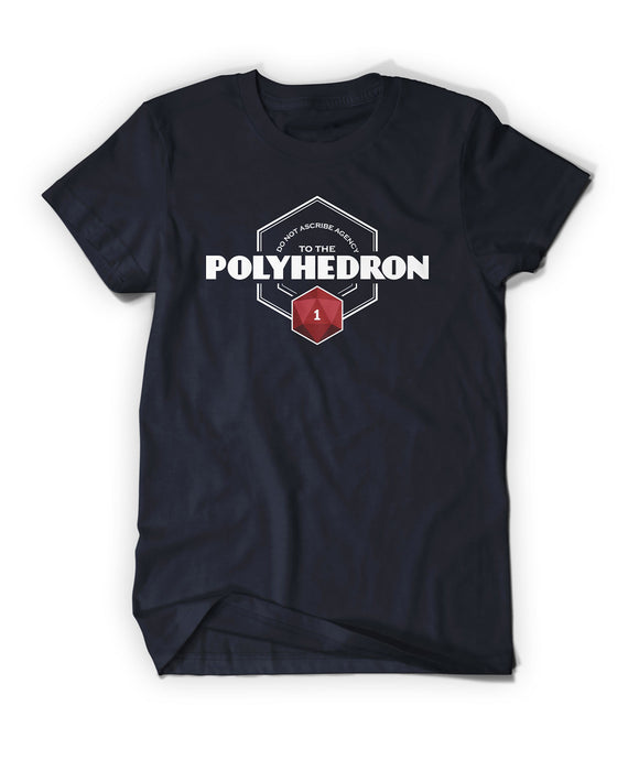 Do Not Ascribe Agency To The Polyhedron Shirt