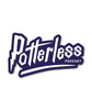 Potterless Vinyl Logo Sticker