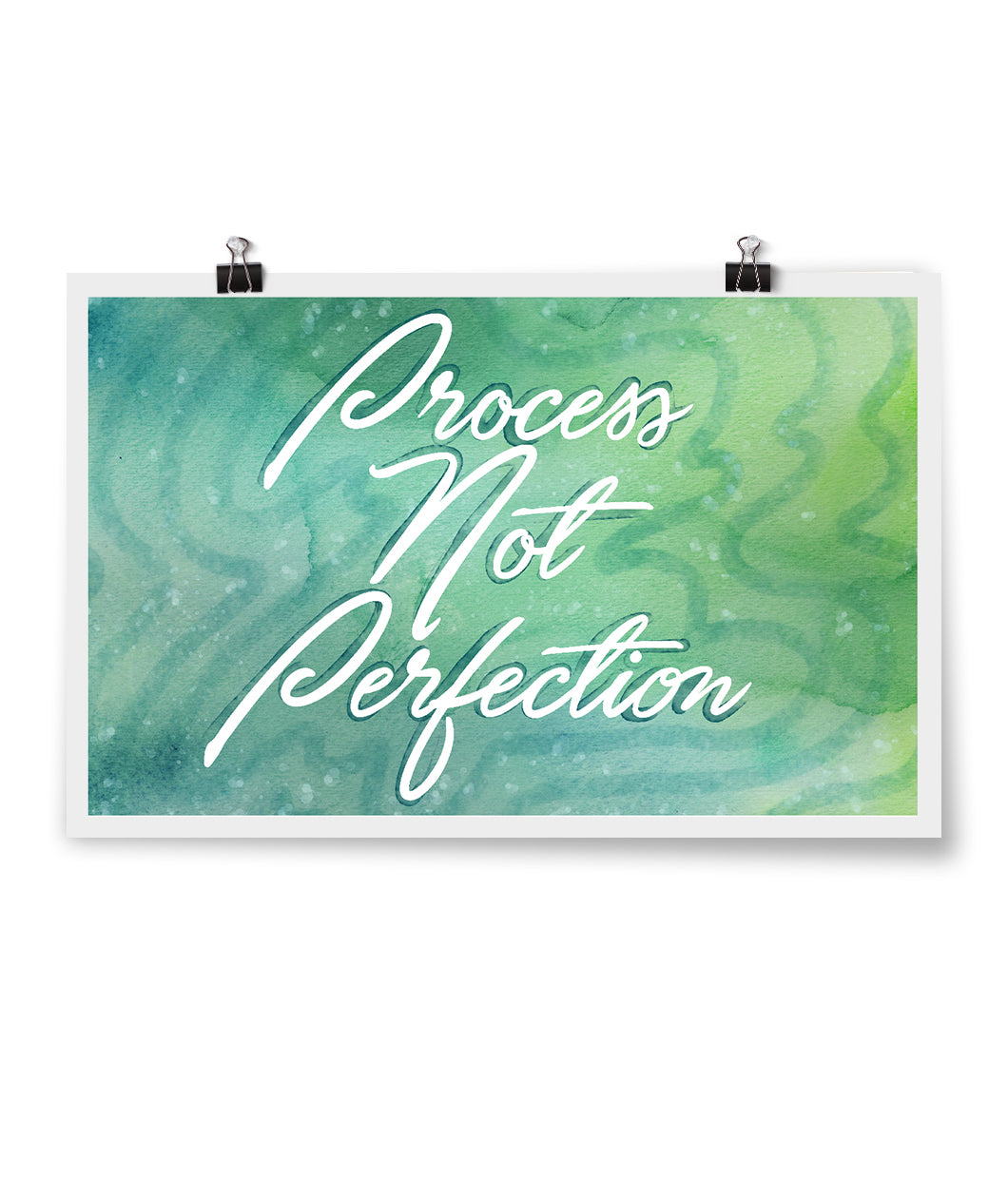 Process Not Perfection Poster