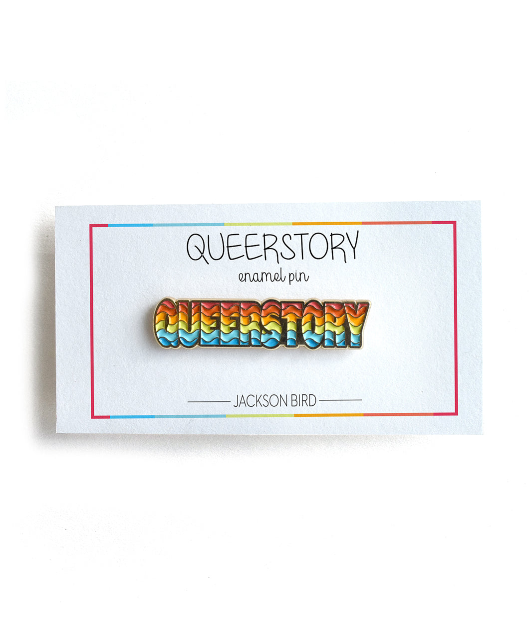 Queerstory Lapel Pin
