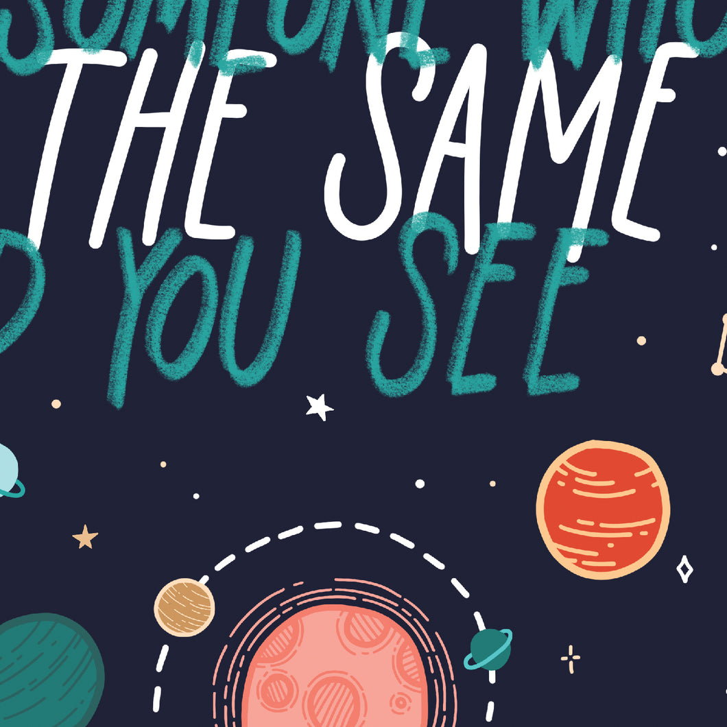 Same World You See Poster