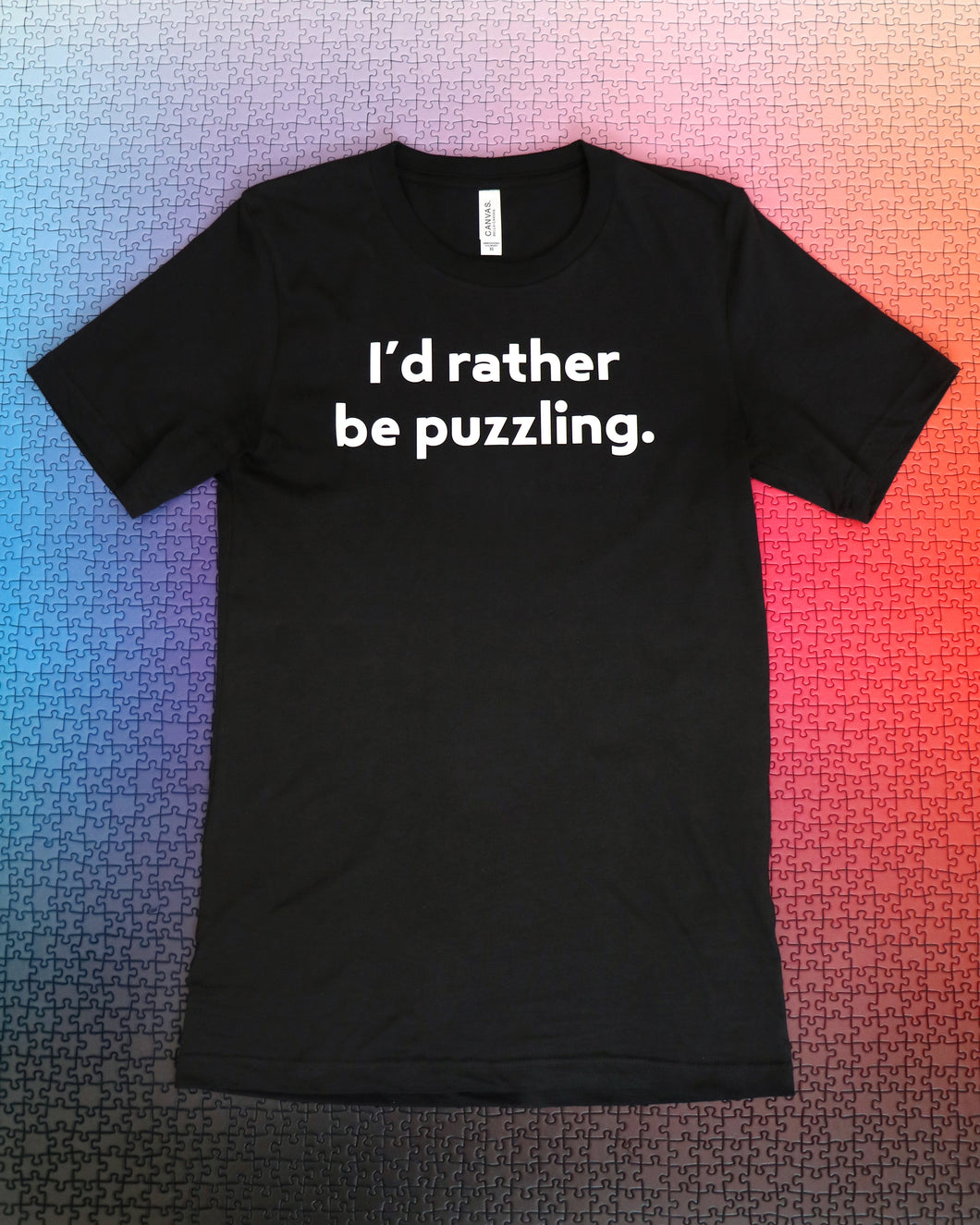 I'd Rather Be Puzzling Shirt