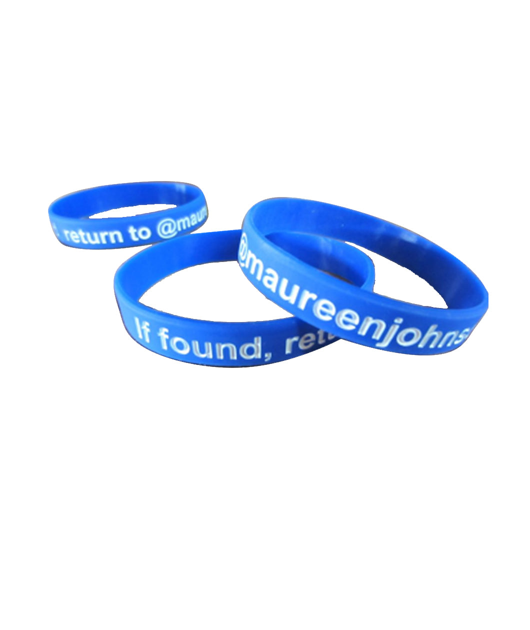 Return to Maureen Johnson Wristband