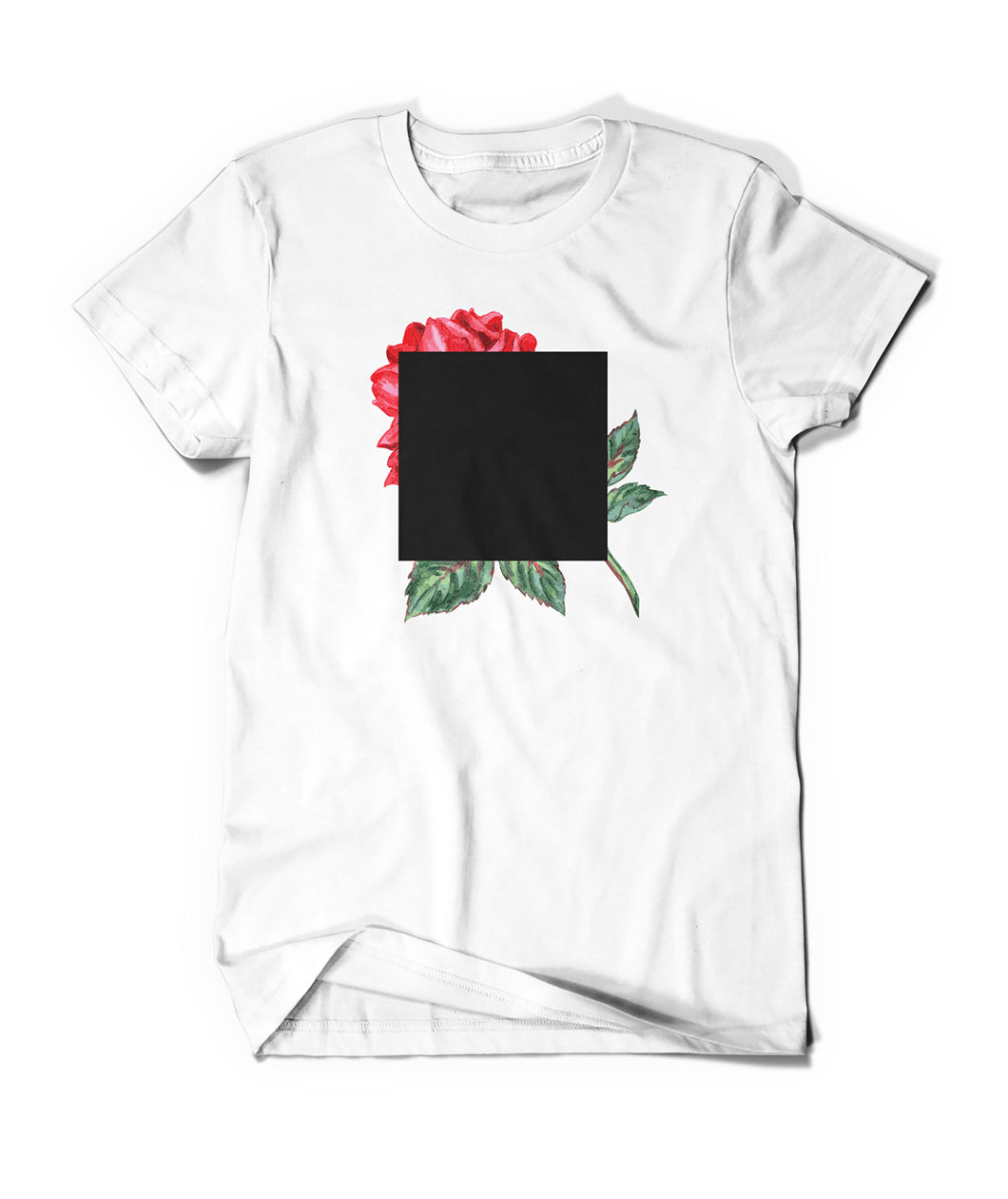 Agnes Martin Inspired Rose Art Shirt