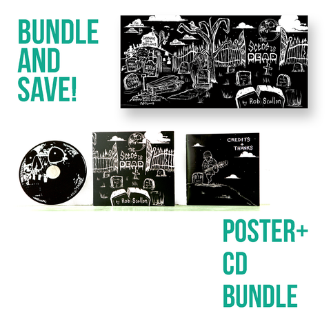 The Scene Is Dead Poster + CD Bundle