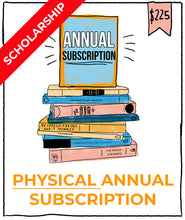 Life's Library 2020 Subscription **Scholarship**