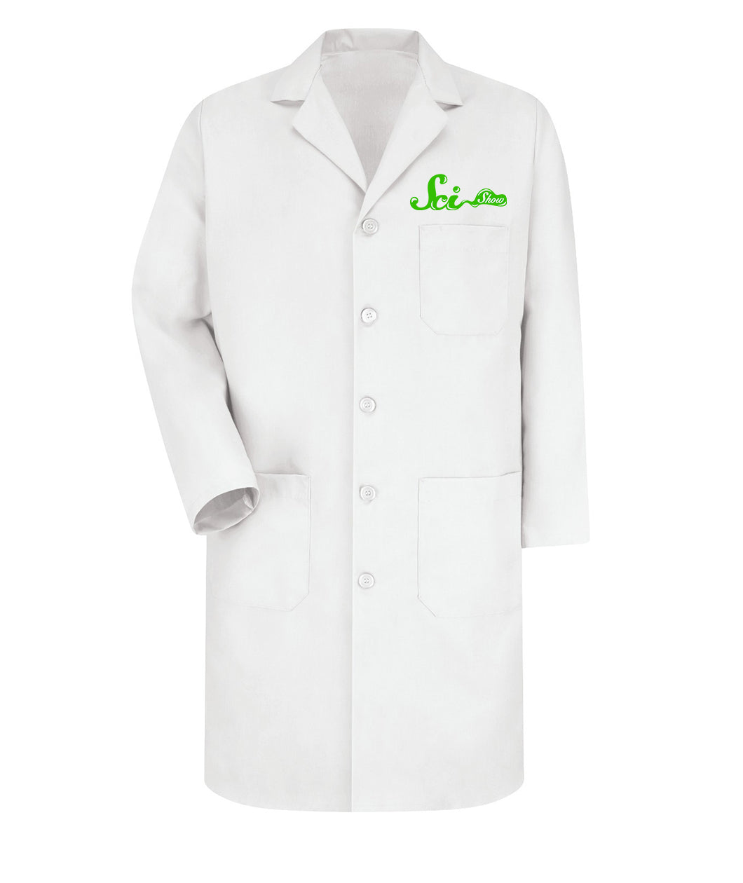 SciShow Logo Lab Coat