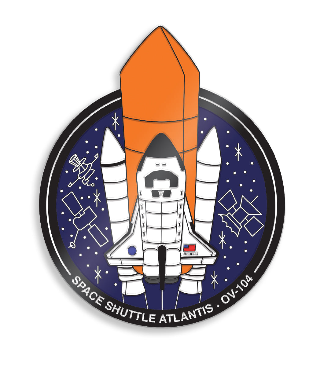 SciShow Pin Of The Month: Atlantis Space Shuttle (October)