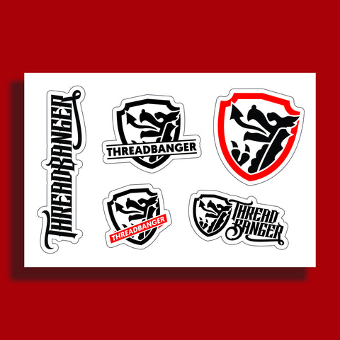 ThreadBanger Sticker Sheet 1