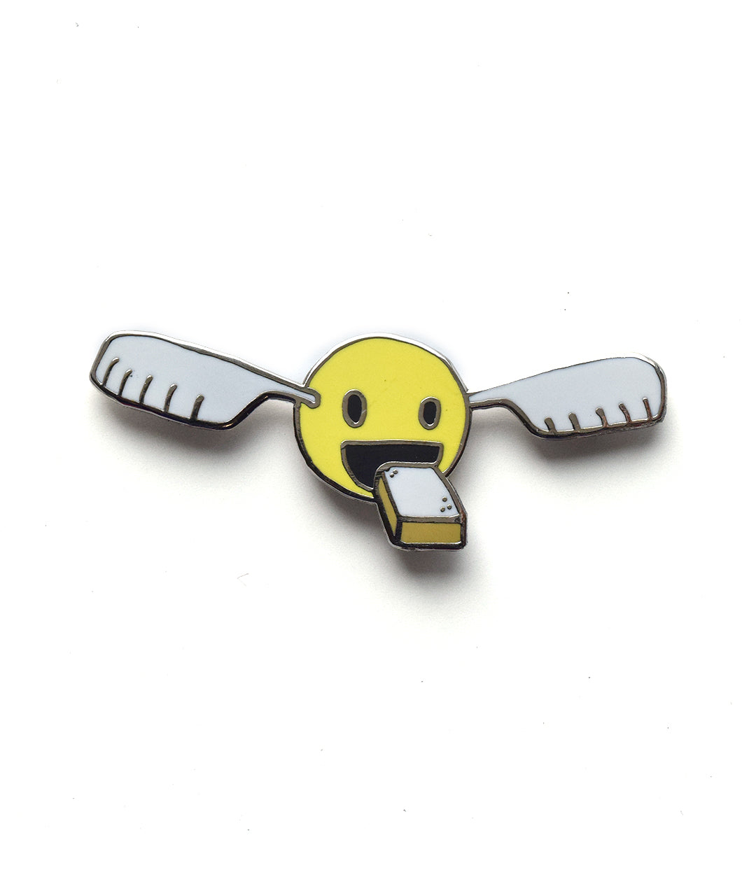 Golden Snitchwich Enamel Pin