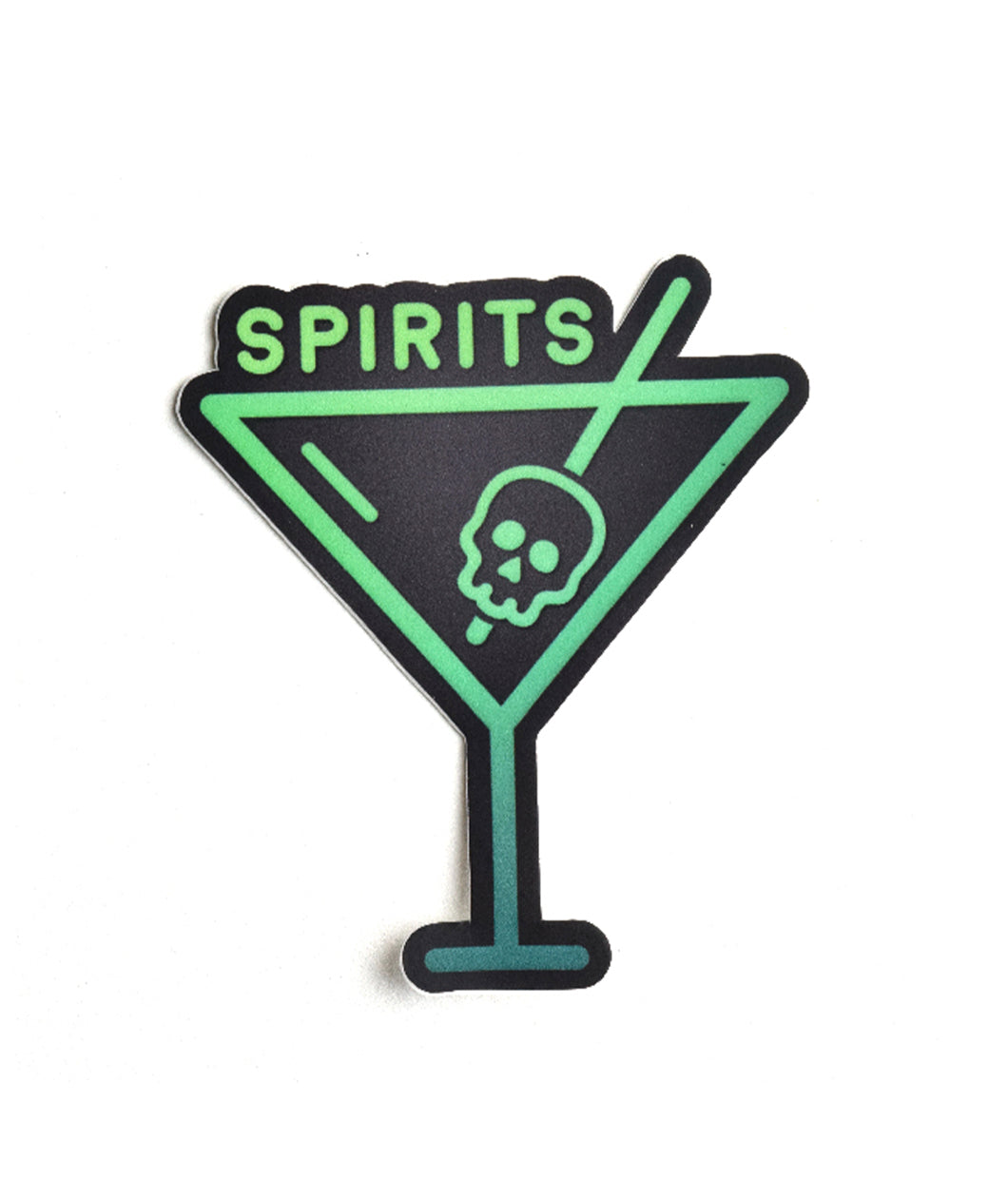 Spirits Vinyl Logo Sticker