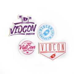 8th Annual VidCon Sticker Pack