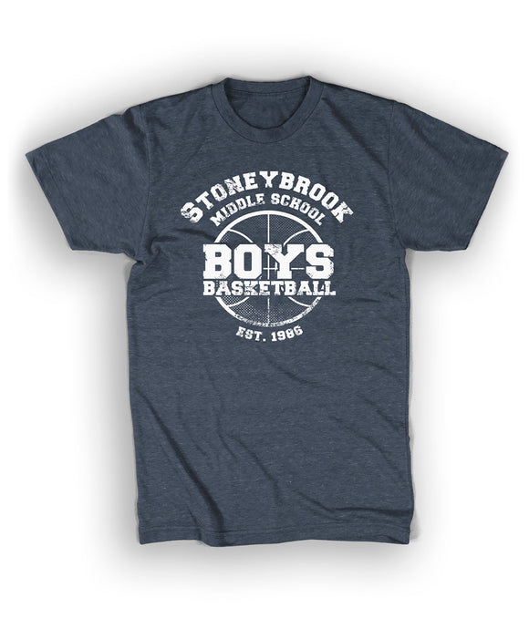 Stoney Brook Middle School Boys Basketball Shirt