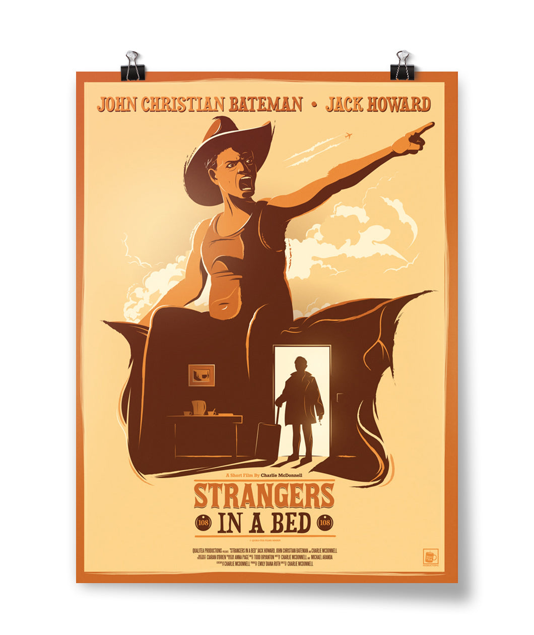 Strangers in a Bed Poster