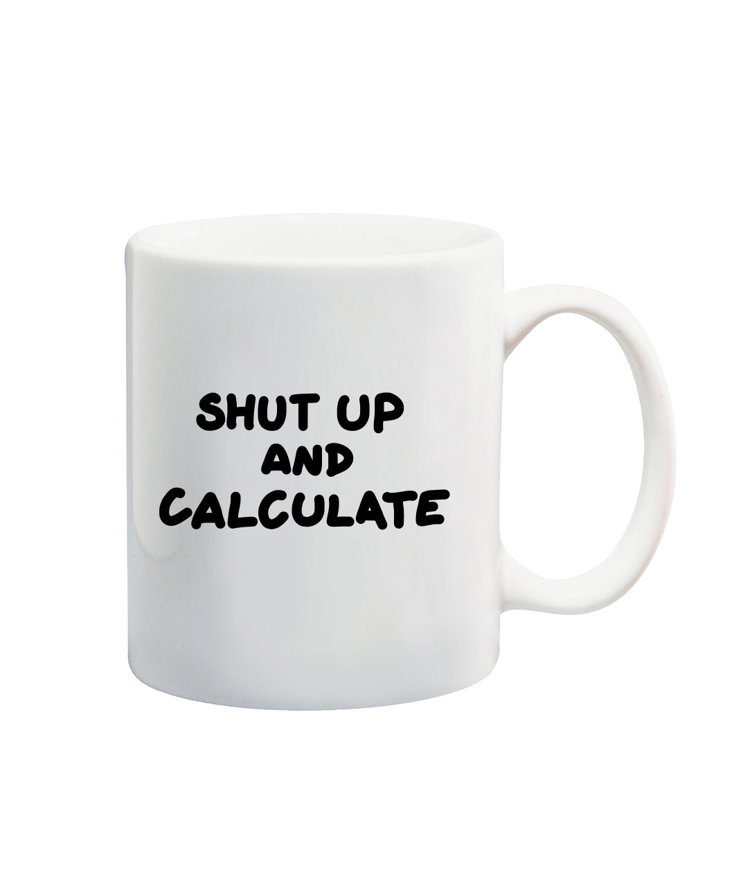 Shut Up And Calculate Mug