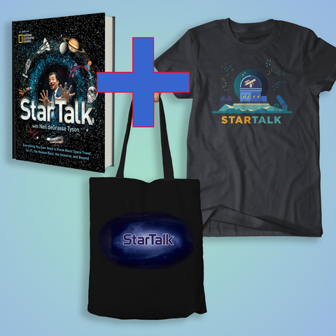 StarTalk Book + Tote + Observatory Shirt SUPER Bundle