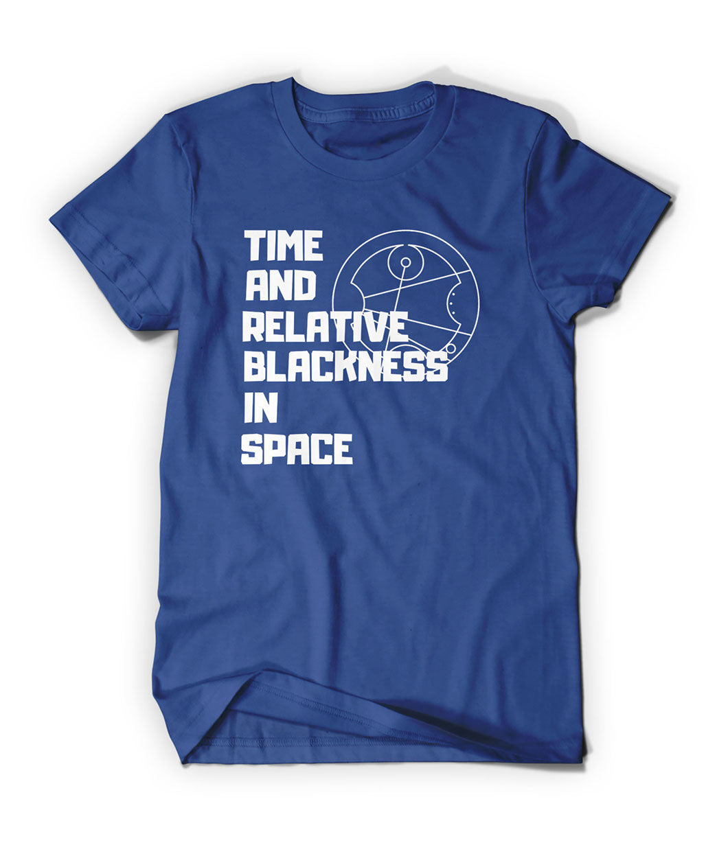 Time And Relative Blackness In Space Shirt
