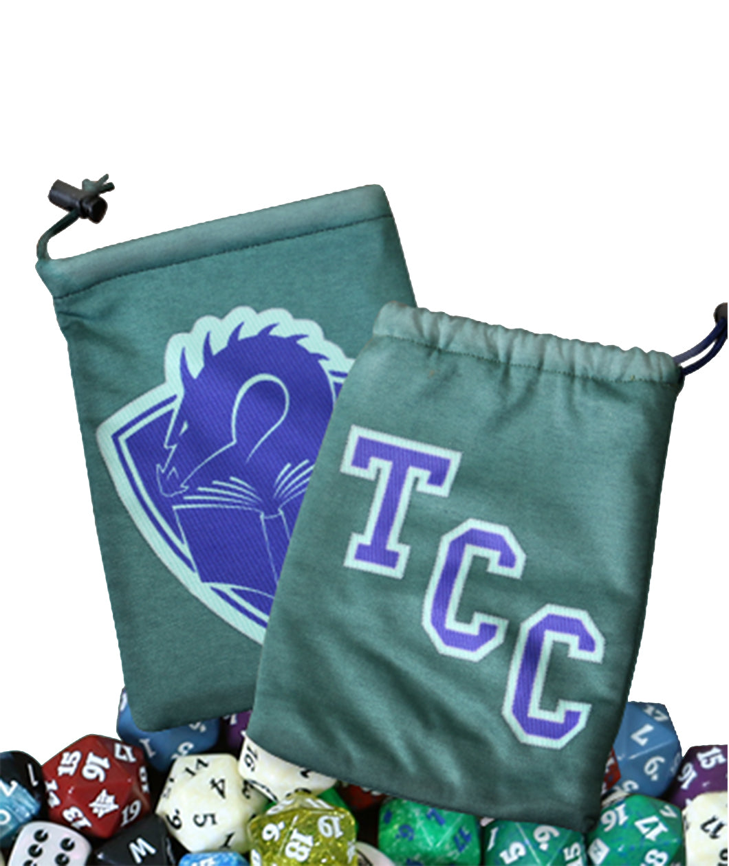 Tolarian Community College: TCC Dice Bag