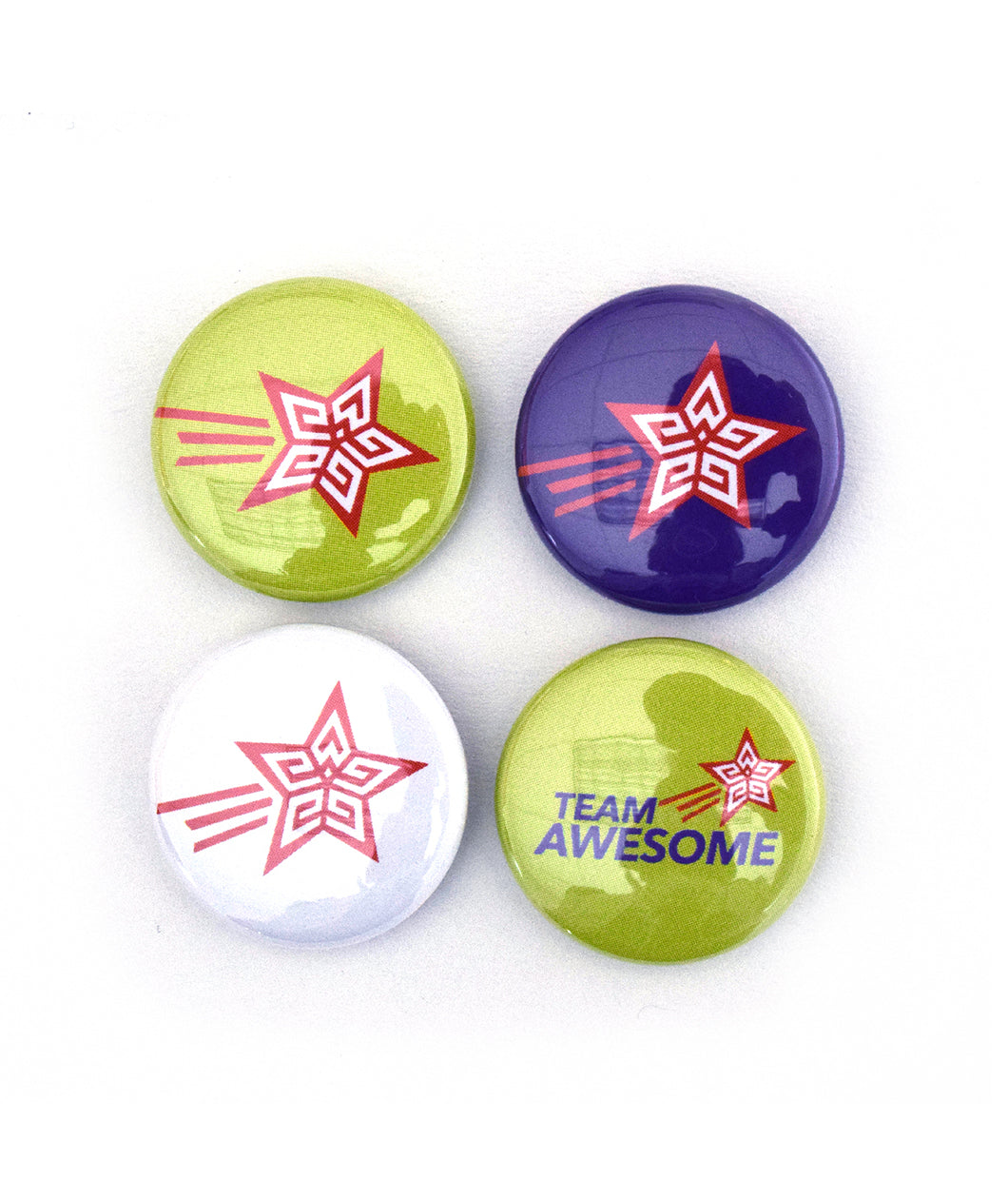 Team Awesome Button Pack