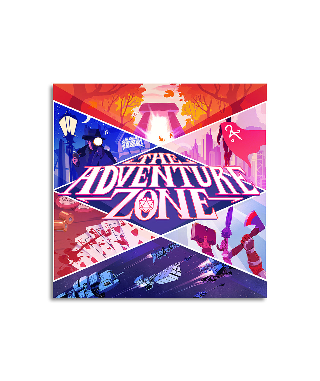 the adventure zone logo decal dftba
