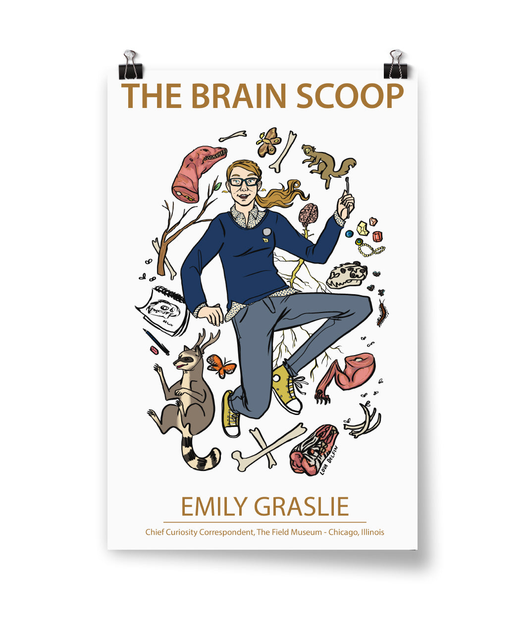 The Brain Scoop Poster