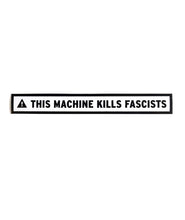This Machine Kills Fascists Laptop Decal