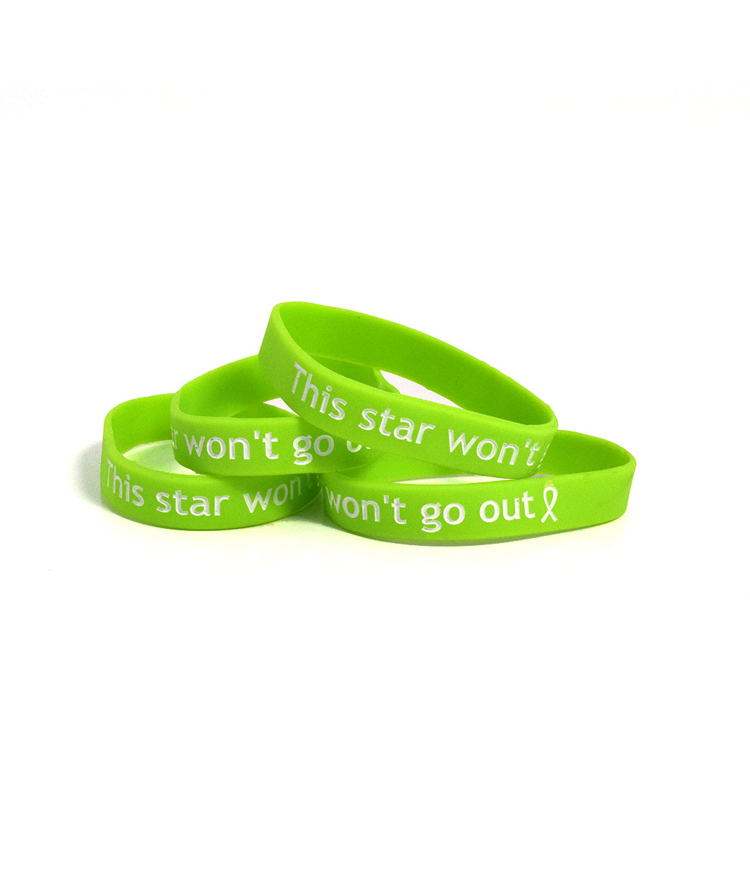 This Star Won't Go Out Wristband