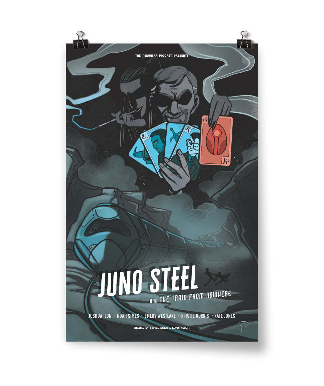 Juno Steel and the Train from Nowhere Poster
