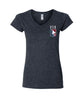 US Quidditch Logo V-Neck Shirt