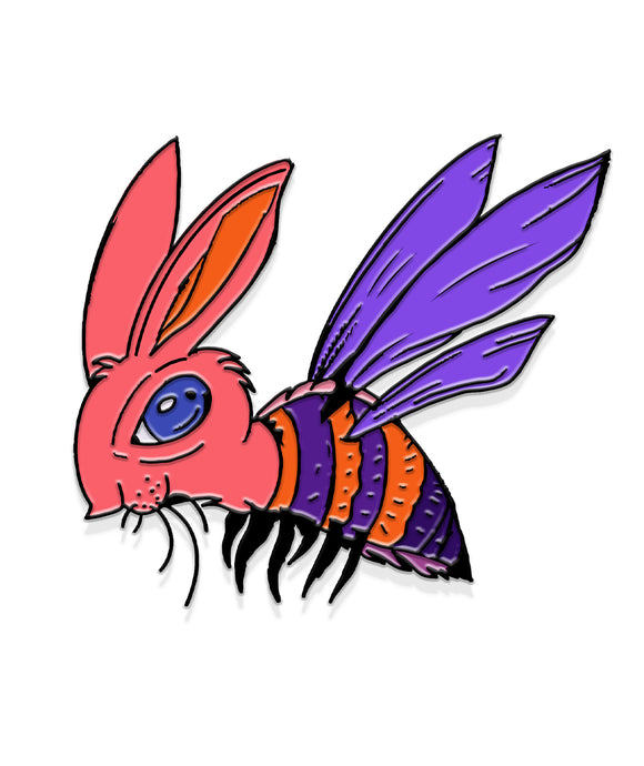 The Valleyfolk Pin Of The Month: Bunny Hornet (August)