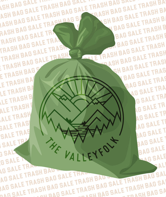 Valleyfolk Trash Bag Sale *FREE SHIPPING*