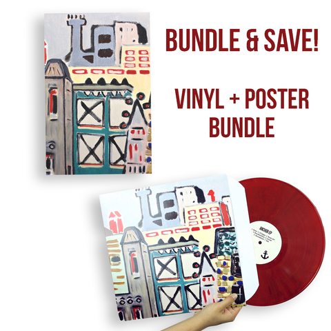 Anchor EP on Vinyl + Poster Bundle