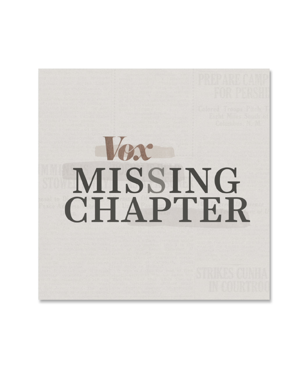 Vox Missing Chapter Sticker