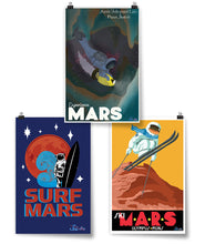 Water on Mars Poster Bundle