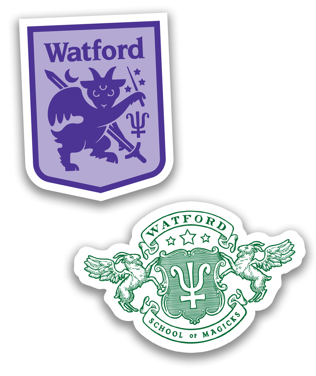 Watford Sticker Decal Set