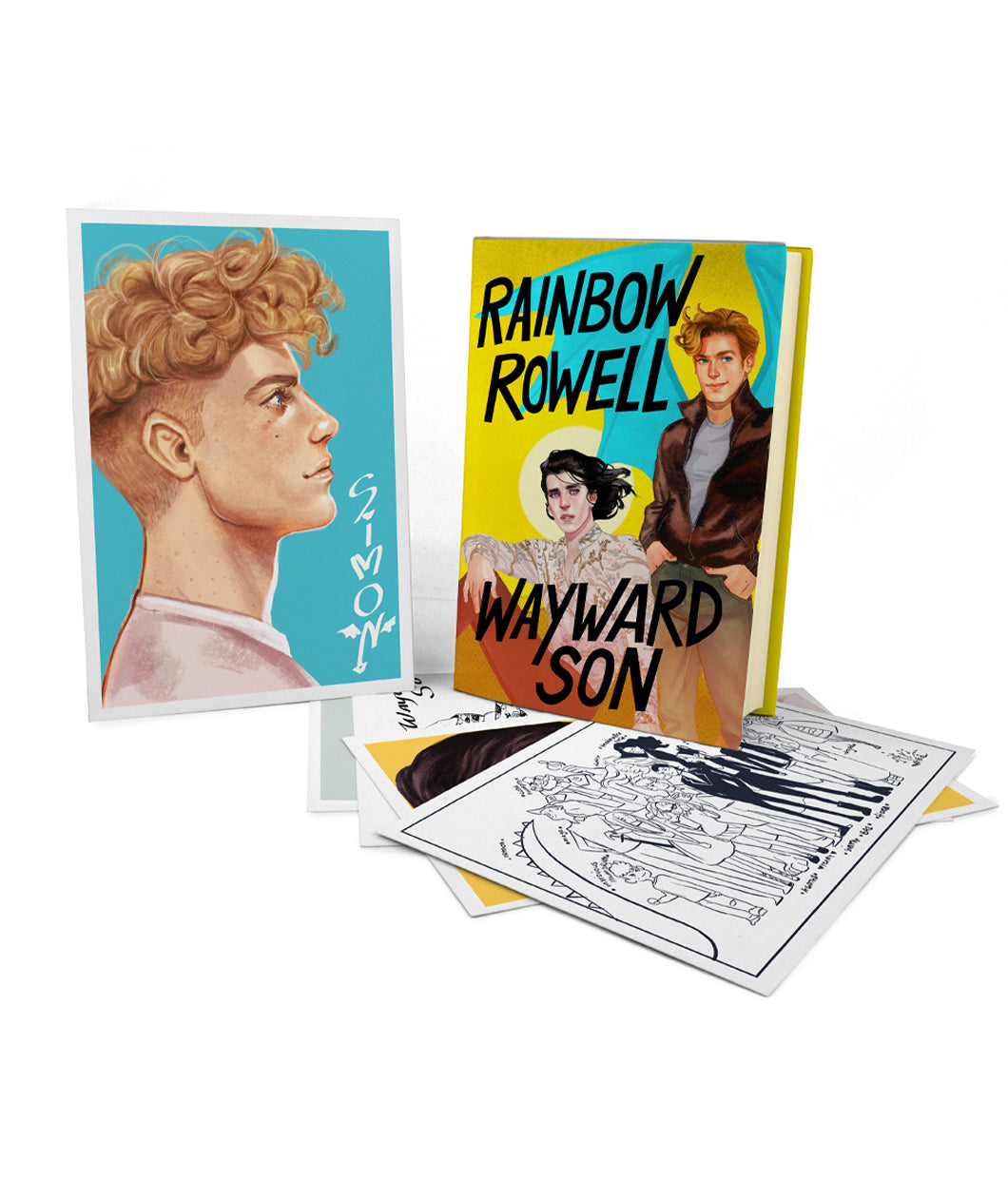 SIGNED Wayward Son Book + Print Set Bundle