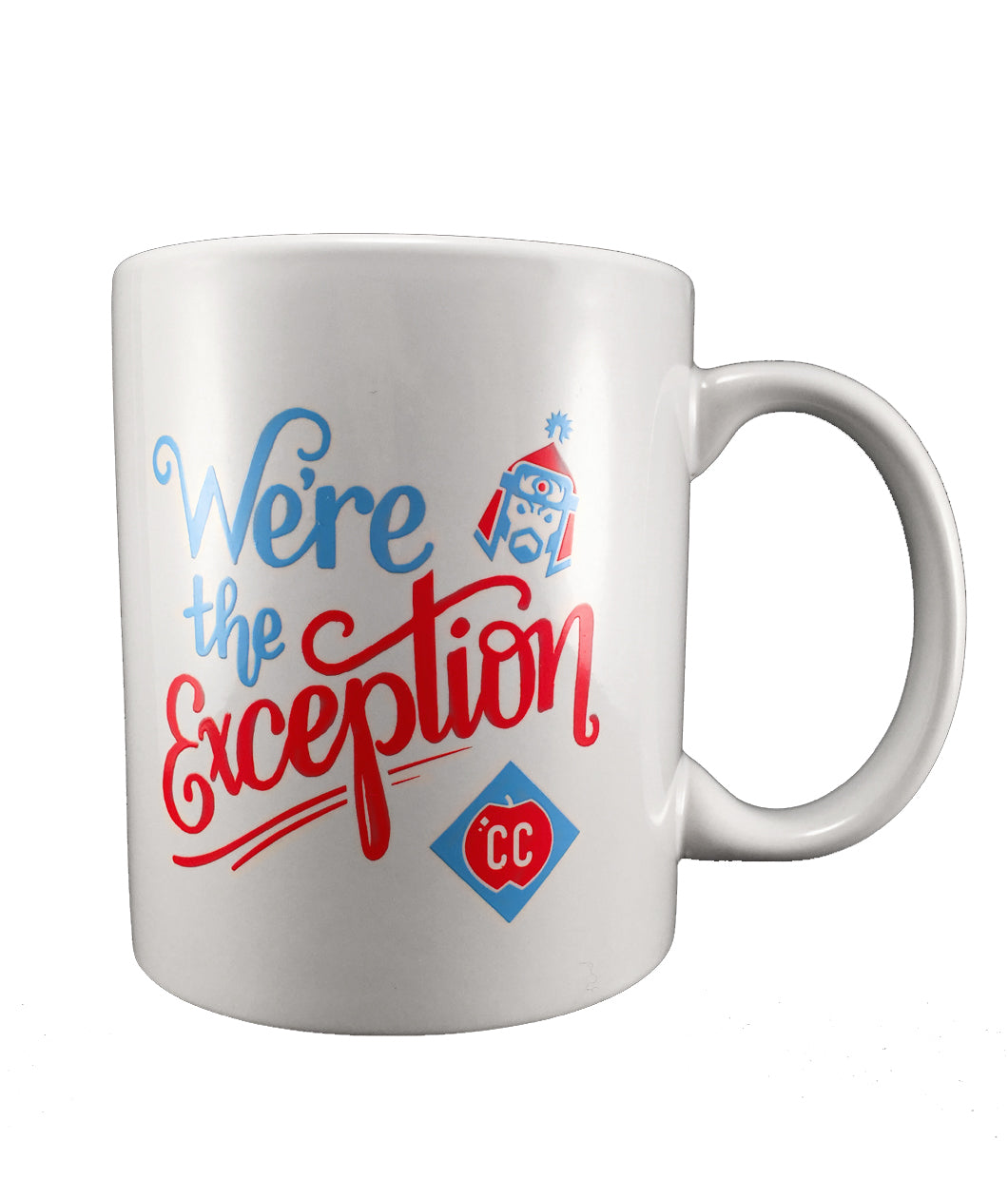 We're the Exception Mug