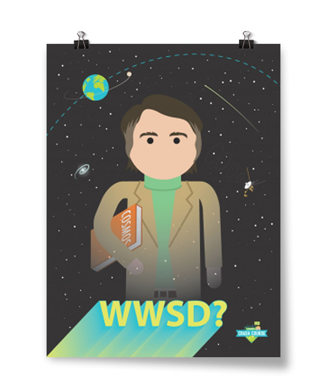 What Would Sagan Do Poster