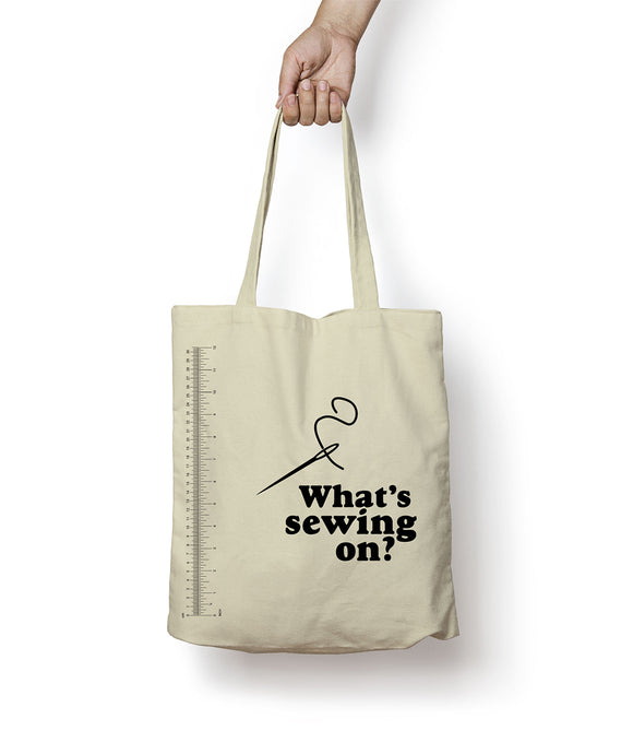 What's Sewing On Tote Bag