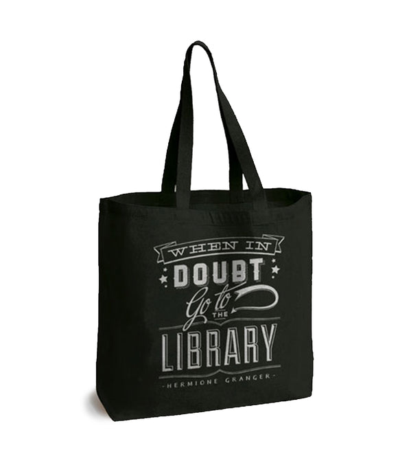 When In Doubt Go to the Library Tote Bag