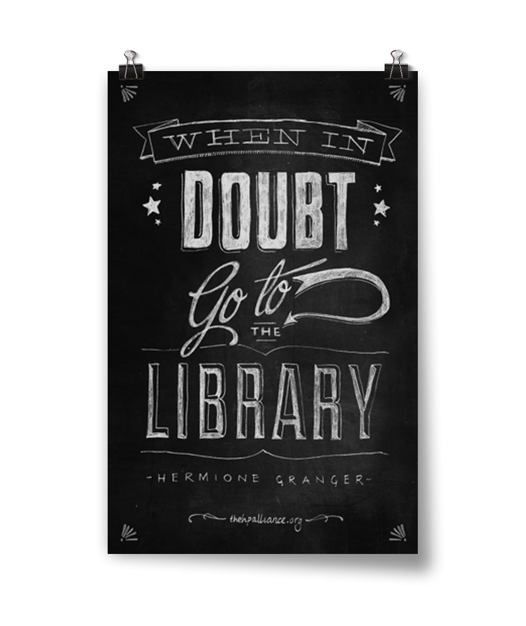 When In Doubt Poster