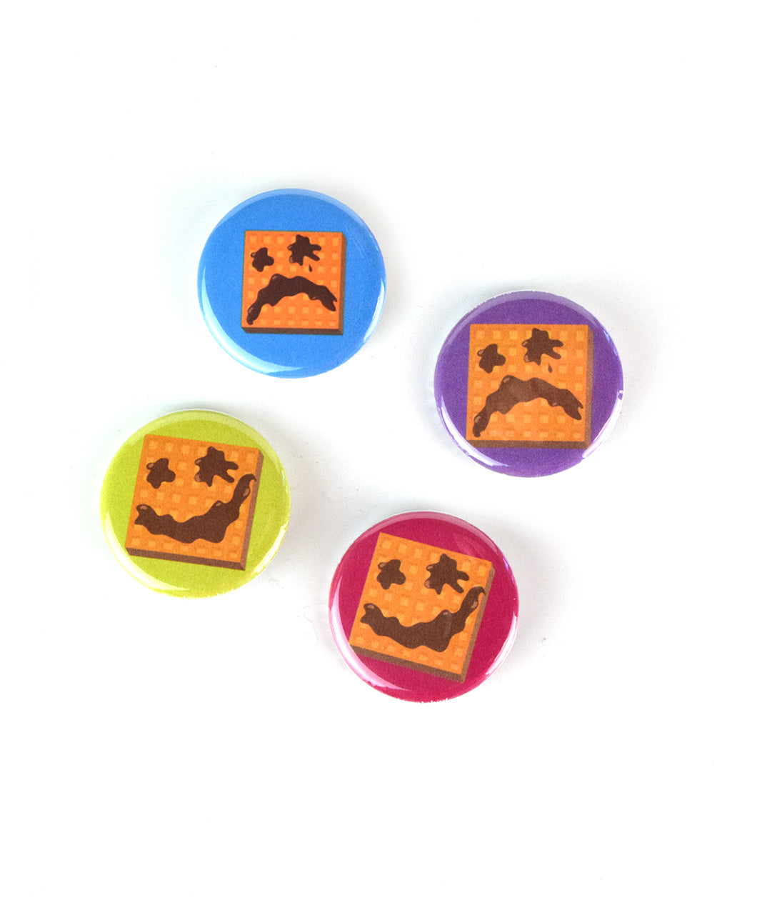 Will It Waffle? Button Pack